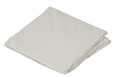 """DMI 36"""" x 80"""" Zippered Plastic Protective Mattress Cover For Hospital Beds, White, Dozen"""