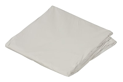 """""""DMI 36"""""""" x 80"""""""" Zippered Plastic Protective Mattress Cover For Hospital Beds, White"""""""