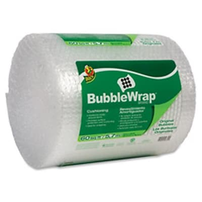 Duck Brand Protective Bubble Wrap Packaging Reusable (SPRCH48468)