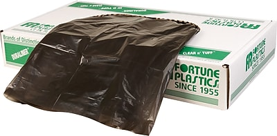 Fortune Plastics Super Hexene Can Liner, 40-45 Gallon Bags, 250/Carton