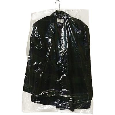 """Partners Brand Garment Bags, 0.6 Mil, 21"""" x 7"""" x 72"""", Clear, 260/Roll (GB21772)"""