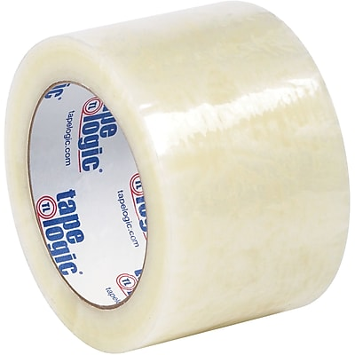 """Tape Logic #6651 Cold Temperature Tape, 1.7 Mil, 3"""" x 110 yds., Clear, 6/Case"""