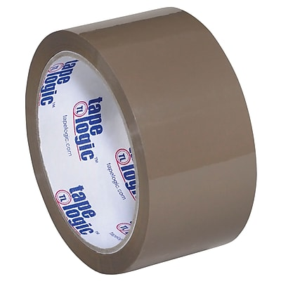 """Tape Logic #700 Hot Melt Tape, 2"""" x 55 yds., Tan, 6/Case (T901700T6PK)"""