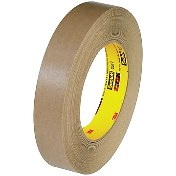"3M 2517 Flatback Tape, 6.5 Mil, 3/4"" x 60 yds., Kraft, 48/Case (T9442517)"
