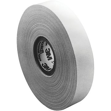 "3M 27 Glass Cloth Electrical Tape, 7 Mil, 1"" x 60 yds., White, 3/Case (T9650273PK)"