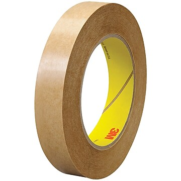 """3M 463 Adhesive Transfer Tape, Hand Rolls, 2.0 Mil, 3/4"""" x 60 yds., Clear, 6/Case (T9644636PK)"""