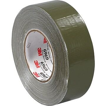 "3M™ 2"" x 60 yds. Vinyl Duct Tape 3903, Olive Green, 24/Case"