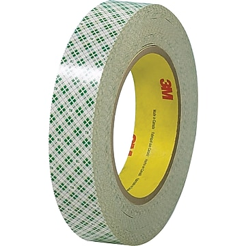 """3M™ 3/4"""" x 36 yds. Double Sided Masking Tape 410M, Natural, 3 Rolls"""