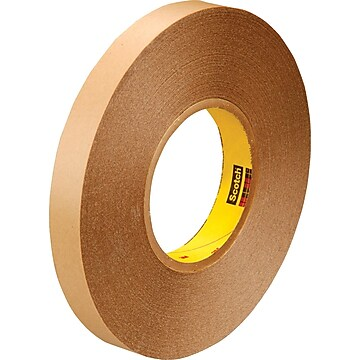 """3M™ 3/4"""" x 72 yds. Double Coated Film Tape 9425, Clear, 2/Pack,Size: med"""