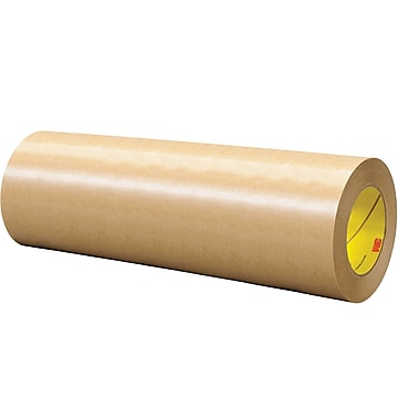 "3M™ 465 Adhesive Transfer Tape, Hand Rolls, 12"" x 60 yds., Clear, 1/Case (T96124651PK),Size: med"