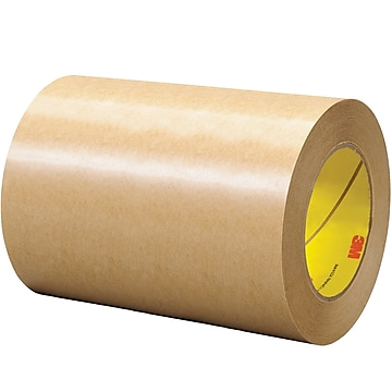 """3M™ 465 Adhesive Transfer Tape, Hand Rolls, 6"""" x 60 yds., Clear, 1/Case (T96064651PK),Size: med"""