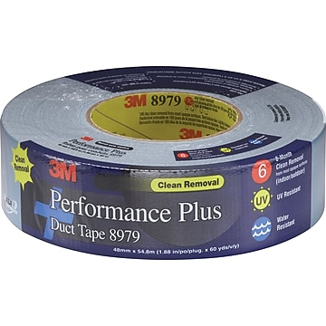 """3M™ #8979 Duct Tape, Slate (Grey) Blue, 3"""" x 60 yds., 12/Pack"""