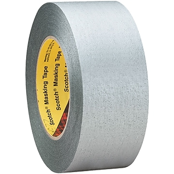 "3M™ Scotch 225 Masking Tape, 2"" x 60 yds., Silver, 3/Case (T9372253PK)"