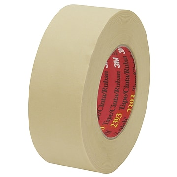 "3M™ Scotch 2393 Masking Tape, 2"" x 60 yds., Tan, 6/Case (T93723936PK)"