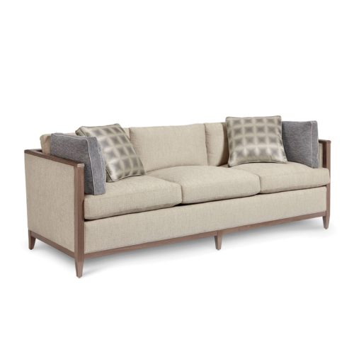 ART Cityscapes Upholstery Astor Pearl Sofa