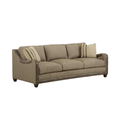 ART Furniture American Chapter Upholstered Dover Sage 88 Inch Sofa