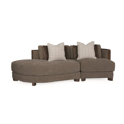 Caracole Modern Streamline Commodore Sectional