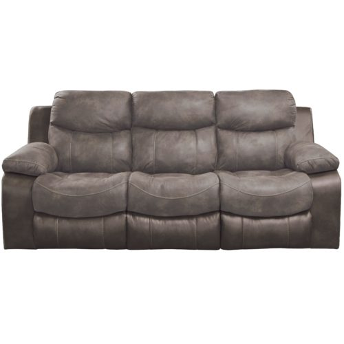Catnapper Henderson Reclining Sofa with Drop Down Table in Dusk