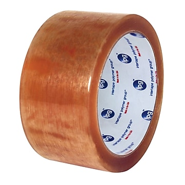 """Intertape 520 2"""" x 110 yds Carton Sealing Tape, Clear, 36 Roll,Size: large"""