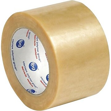 "Intertape 530PVC Carton Sealing Tape, 3"" x 110 yds., Clear, 24/Case,Size: large"