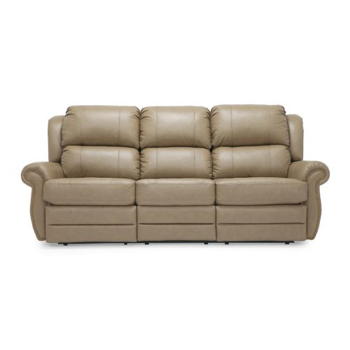 Palliser Michigan Reclining Sofa in Classic Sandstone