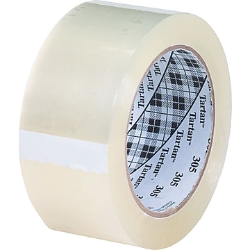"Scotch #302 Acrylic Packaging Tape, 3""x110 yds., 24/Case"