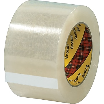 """Scotch #313 Acrylic Packing Tape, 3"""" x 55 yds., 24/Pack"""