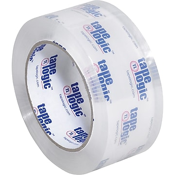 "Tape Logic #200CC Crystal Clear Tape, 2.0 Mil, 2"" x 110 yds., Clear, 12/Case (T902200CC12P)"