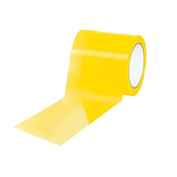 "Tape Logic Caution/Physical 4"" x 36 yds. Hazard Vinyl Safety Tape, Yellow, 12/Pack (T9436Y)"