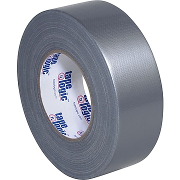 "Tape Logic Duct Tape, 10 Mil, 2"" x 60 yds., Silver, 3/Case (T987100S3PK),Size: med"