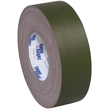 "Tape Logic Gaffers Tape, 11 Mil, 3"" x 60 yds., Olive Green, 3/Case (T98818OG3PK)"