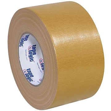 "Tape Logic™ 10 mil Duct Tape, 3"" x 60 yds, Beige, 16/Pack"