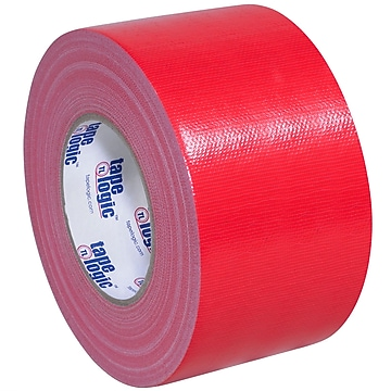 """Tape Logic™ 10 mil Duct Tape, 3"""" x 60 yds, Red, 3/Pack"""