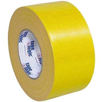 "Tape Logic™ 10 mil Duct Tape, 3"" x 60 yds, Yellow, 3/Pack"