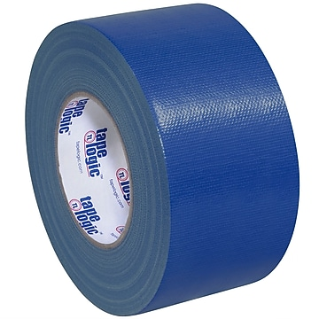 "Tape Logic™ 10 mil Duct Tape, 3"" x 60 yds., Blue, 16/Pack"