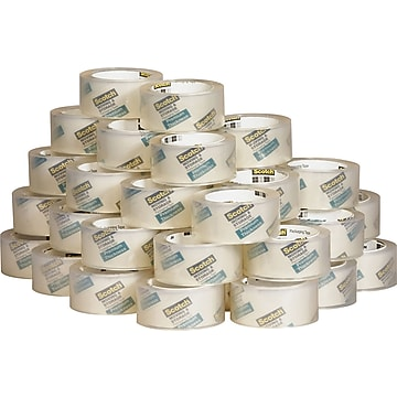 Scotch Moving/Storage Packaging Tape, 54.60 yd. Length, Durable, Clear