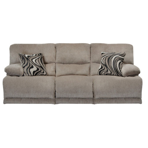 Catnapper Jules Reclining Sofa in Pewter