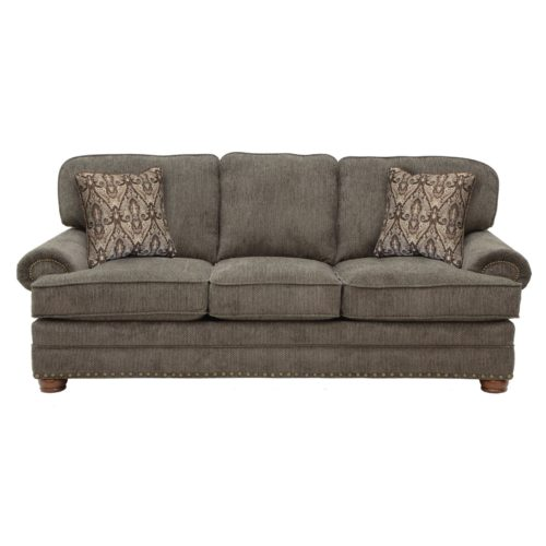 Jackson Braddock Sofa in Metal
