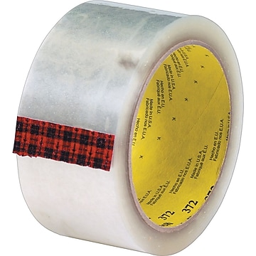 """""""3M™ #372 Hot Melt Packaging Tape, 2"""""""" x 110 yds., Clear, 36/Case"""""""