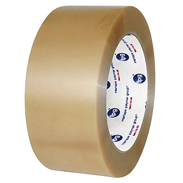 """""""Intertape 2""""""""W x 110 Yards x 2.2 mil #530 Carton Sealing Tape, Clear, Pack of 6 (N8235),Size: large"""""""