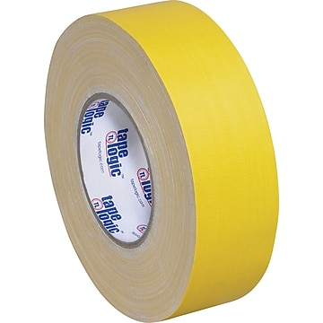 """Tape Logic Gaffers Tape, 11.0 Mil, 2"""" x 60 yds., Yellow, 24/Case (T98718Y)"""