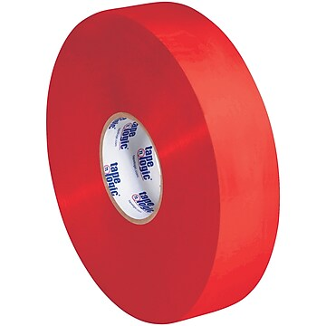 "Tape Logic #700 Economy Tape, 1.9 Mil, 2"" x 1000 yds., Red, 6/Case (T903700R)"