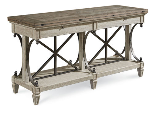 ART Arch Salvage Vaux Sofa Table in Cirrus