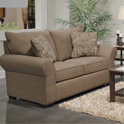 Jackson Maddox Loveseat in Fudge