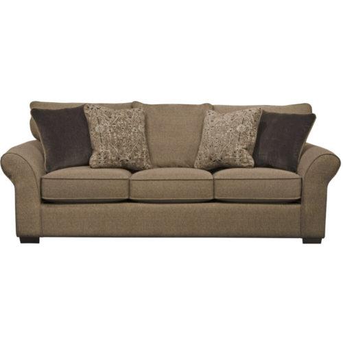 Jackson Maddox Queen Sleeper Sofa in Fudge