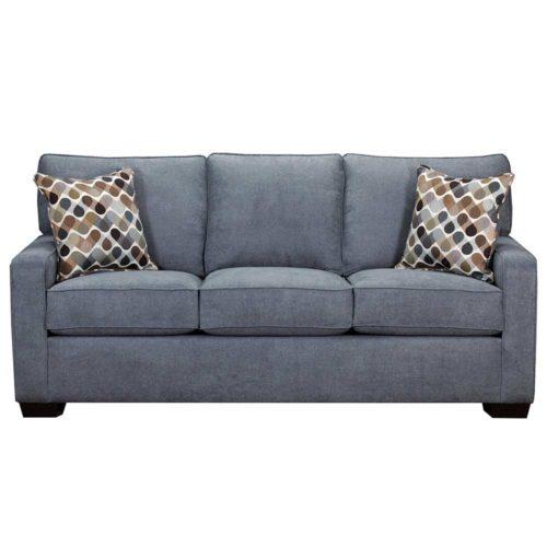 Simmons Upholstery by Lane Home Furnishings Mia Denim Queen Sleeper Sofa