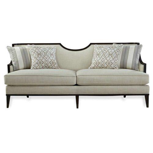 A.R.T. Furniture Harper Ivory Sofa, 83 in. W x 33 in. D x 36 in. H in White
