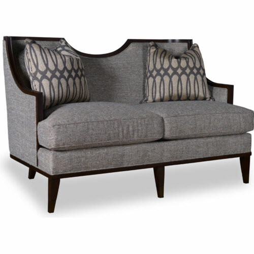 A.R.T. Furniture Harper Mineral Loveseat Sofa, 60 in. W x 38 in. D x 36 in. H