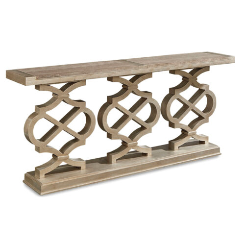 A.R.T. Furniture Morrissey Hillier Console Table in Bezel, 75 in. W x 14 in. D x 33 in. H