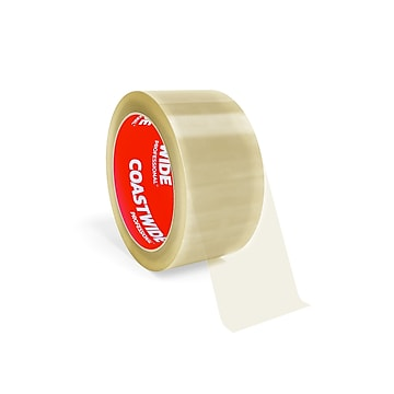 """Coastwide Professional™ 2"""" x 55 yds. Industrial Packing Tape, Clear, 36/Carton (CW55998)"""